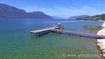Aix-les-Bains : Le lac du Bourget couleur vert émeraude - LyonCapitale.fr