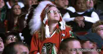 Chicago Blackhawks ban headdresses but keep name and logo