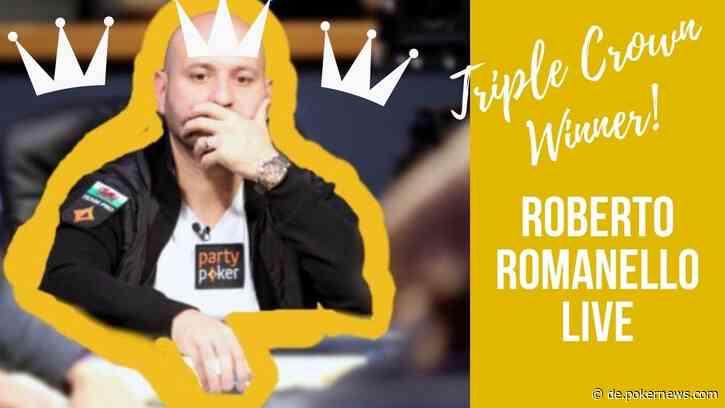 Triple Crown Winner Roberto Romanello Has His Own GTO