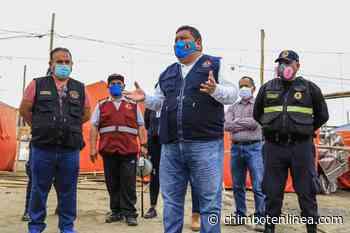 Alcalde Briceño anunció lotización en A.H. Jhoselyn Álvarez en Nuevo chimbote - Diario Digital Chimbote en Línea
