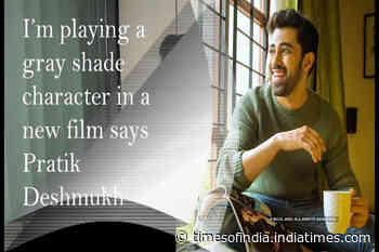 Actor Pratik Deshmukh speaks about his new film