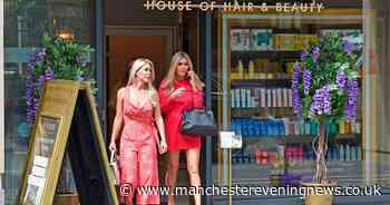 The Real Housewives of Cheshire return to filming wearing face masks