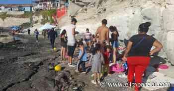 Siguen sin respetar restricciones para ingresar a playas en Rosarito - FRONTERA.INFO