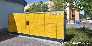 Service ausgeweitet: Post nimmt dritte Packstation in Bitterfeld-Wolfen in Betrieb - Mitteldeutsche Zeitung