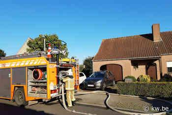 Kolen in vuilniszak veroorzaken brandje in Sint-Jozef