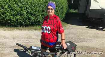 Ingersoll, Ont. senior to cycle hundreds of kilometres for late daughter - CTV News London