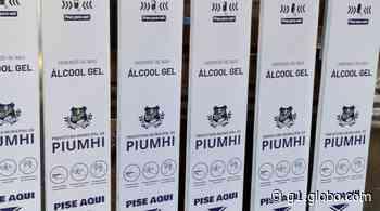 Totens de álcool em gel são adquiridos pela Prefeitura de Piumhi - G1