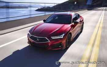Plus de 350 chevaux pour l'Acura TLX Type S 2021