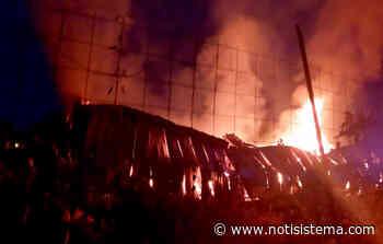 Se registra incendio en una bodega en el poblado de San Sebastián El Grande - Notisistema
