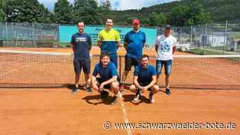 Burladingen: Überregionale Teilnehmer bieten Tennis mit Niveau - Burladingen - Schwarzwälder Bote