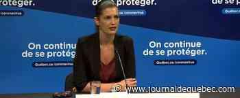 COVID-19: Geneviève Guilbault fait appel aux influenceurs pour conscientiser les jeunes