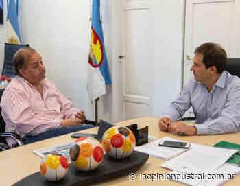 Linares apoya a Luque como candidato a gobernador de Chubut - La Opinión Austral
