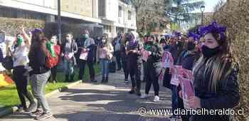 Protesta de Mujeres por Linares para exigir justicia en casos pendientes - Diario El Heraldo Linares