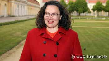 Ex-SPD-Vorsitzende: Andrea Nahles tritt am 1. August ihre neue Stelle an - t-online.de