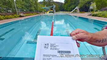 Corona verändert Wasserspaß: Sommerfrische im Freibad Daaden nur mit Saisonkarte - Rhein-Zeitung