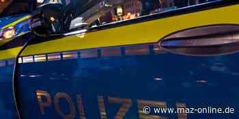 Polizeiüberblick aus Oberhavel vom 30. Juli 2020: Totalschaden nach Kollision in Hennigsdorf - Märkische Allgemeine Zeitung