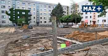 Gute Fortschritte im neuen Albert-Schweitzer-Quartier in Hennigsdorf - Märkische Allgemeine Zeitung