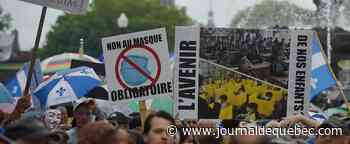 Manifestation antimasques: le SPVQ justifie sa non-intervention
