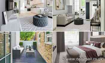 Stunning £500,000 luxury north London apartment with private terrace could be yours for just £5
