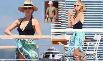Steve Jobs' widow Laurene Powell Jobs enjoys a summer escape in the French Riviera