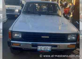 Siguen agresiones a balazos, ahora en Santa Anita - El Mexicano Gran Diario Regional