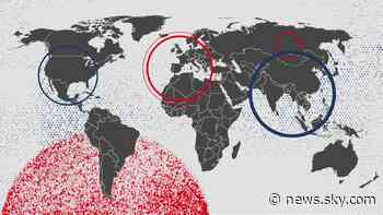 Coronavirus: How COVID-19 changed countries and continents - and what the future is likely to hold - Sky News