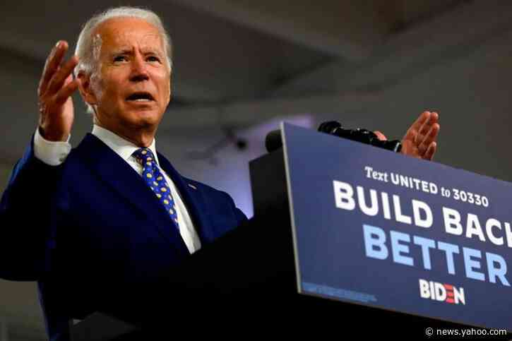 Poll puts Biden over Trump in 6 swing states
