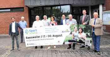 Sport im Park: Baesweiler für Sport und Fitness begeistern - Aachener Zeitung