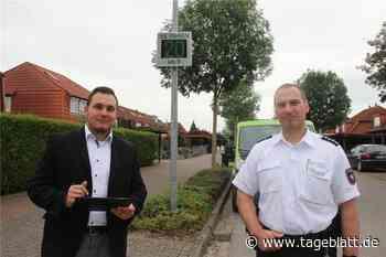 Neu Wulmstorf schafft neue Geschwindigkeits-Displays an - TAGEBLATT - Lokalnachrichten aus Neu Wulmstorf/Süderelbe. - Tageblatt-online