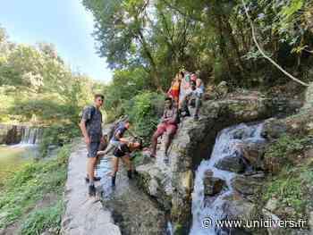 Les canaux des canebiers à Mouans-Sartoux terrain communal lundi 3 août 2020 - Unidivers