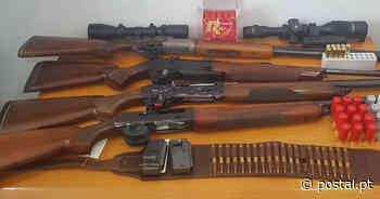 Apreensão de armas por violência doméstica em Tavira - Postal do Algarve