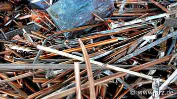 Isselburg: Diebe stehlen 300 Kilogramm Kupferschrott - NRZ
