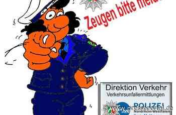 POL-ME: Verkehrsunfallfluchten aus dem Kreisgebiet - Haan / Monheim - 2007166 - Presseportal.de