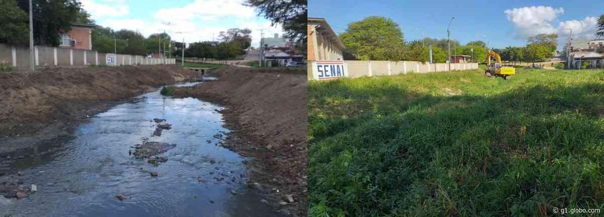 Desassoreamento de canais e do rio Ipojuca retiram 450 toneladas de lixo por mês, em Caruaru - G1