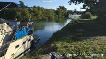 Aire-sur-la-Lys: un bateau dérive dans le canal - Le Journal des Flandres