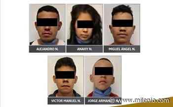 En prisión, cinco presuntos integrantes de 'La Unión de Tepito' - Milenio