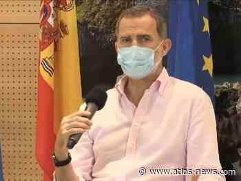 """Felipe VI apela a la """"unión, responsabilidad y solidaridad"""" para superar la pandemia - Agencia Atlas"""