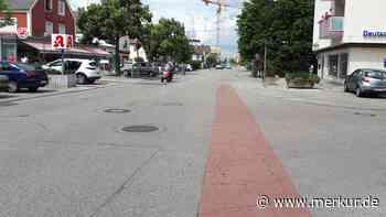 Germering/Untere Bahnhofstraße: Mehr Radsicherheit – weniger Parkplätze - Merkur.de