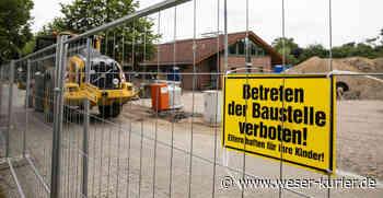 Erweiterung von Kita und Grundschule in Verden-Walle hat begonnen - WESER-KURIER
