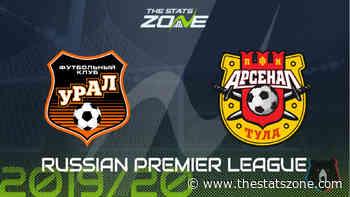 2019-20 Russian Premier League – Ural vs Arsenal Tula Preview & Prediction - The Stats Zone
