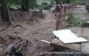 Se desborda río en Tepeji debido a las lluvias - El Sol de Hidalgo