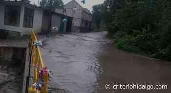 Tromba causa inundaciones y daños materiales en Tepeji del Río - Criterio Hidalgo