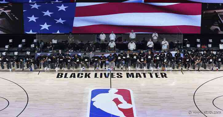 National anthem kneeling, 'virtual fan' weirdness, and other scenes from inside the NBA's Orlando restart