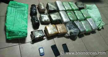Incautan $20000 en droga en San Sebastián Salitrillo, Santa Ana - Solo Noticias
