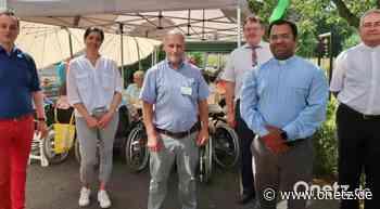 Bei Sommerfest im BRK-Seniorenheim Vilseck zufriedene Bewohner, zufriedenes Personal - Onetz.de