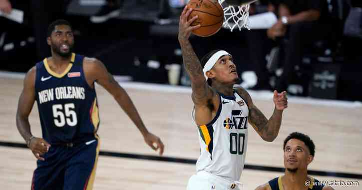 Utah Jazz defeat New Orleans Pelicans 106-104 as NBA season restarts