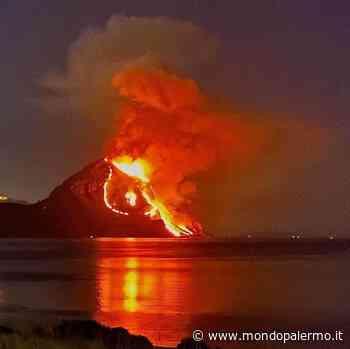 Trapani, le fiamme avvolgono Monte Cofano, di fronte a San Vito Lo Capo - Mondopalermo.it
