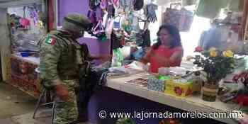 Refuerzan en Cuautla recomendación del uso de cubrebocas ante Covid-19 - La Jornada Morelos