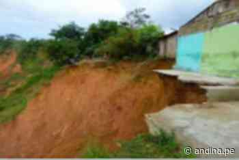 Huánuco: sugieren evacuar a pobladores por erosión de laderas en la quebrada Río Tigre - Agencia Andina