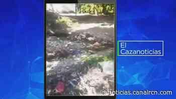El Cazanoticias: denuncian basuras en la quebrada El Cristo, en Aguachica - Noticias RCN